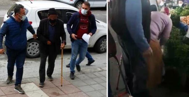 Pazar tacizcisi tutuklandı
