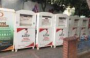 Efeler Belediyesi Kızılay yardım kumbaralarını gasp etti