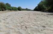İlk kez böyle görüntüler, Büyük Menderes Nehri kurudu