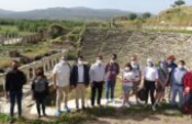 Afrodisias Antik Kenti turistleri ağırladı