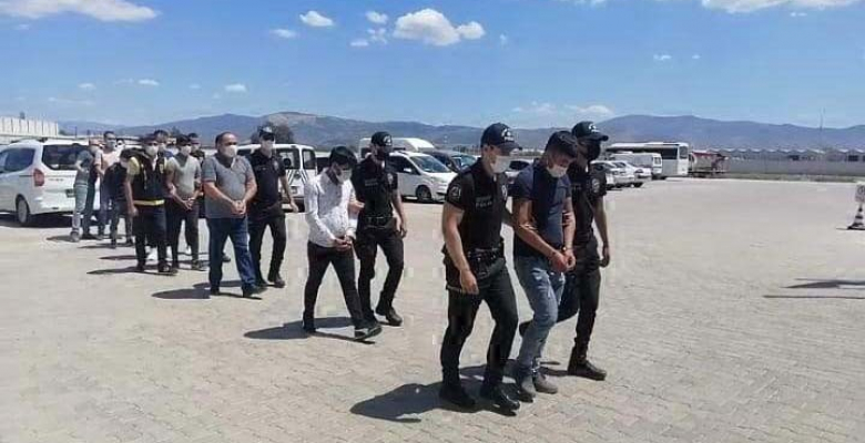 Aydın merkezli 7 ilde dolandırıcılık operasyonu 45 gözaltı