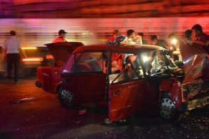 Feci kazada 2 ölü, 1 yaralı