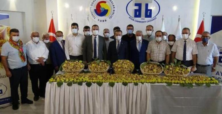 Sezonun ilk kuru inciri kilosu 250 liradan satıldı