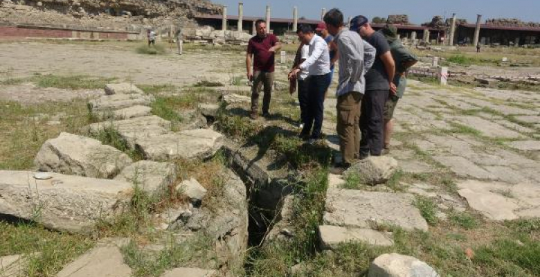 Antik kentteki kanalizasyon sistemi su baskınlarını önledi