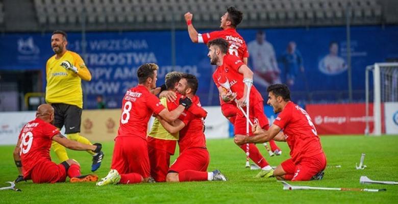 Ampute Futbol Milli Takımı, ikinci kez Avrupa Şampiyonu oldu