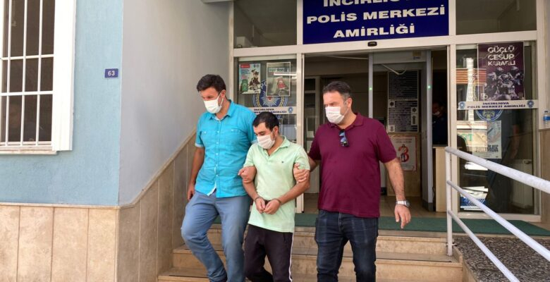 22 yıl hapis cezasıyla aranıyordu, İncirliova polis yakaladı