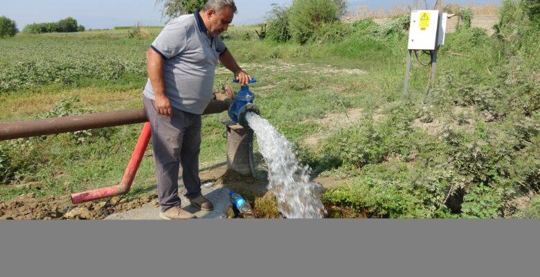 Susuz kalan çiftçilerin imdadına Aydın Büyükşehir yetişti