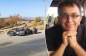 Takla atan motosikletin sürücüsünün feci ölümü