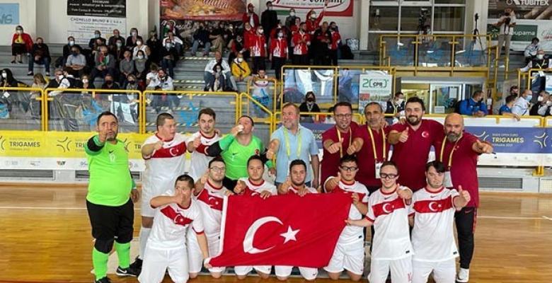 Down Sendromlular Avrupa Oyunları şampiyonu