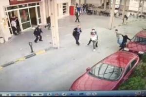 Kavgada polisin silahını alıp ateş etti, o görüntüler ortaya çıktı