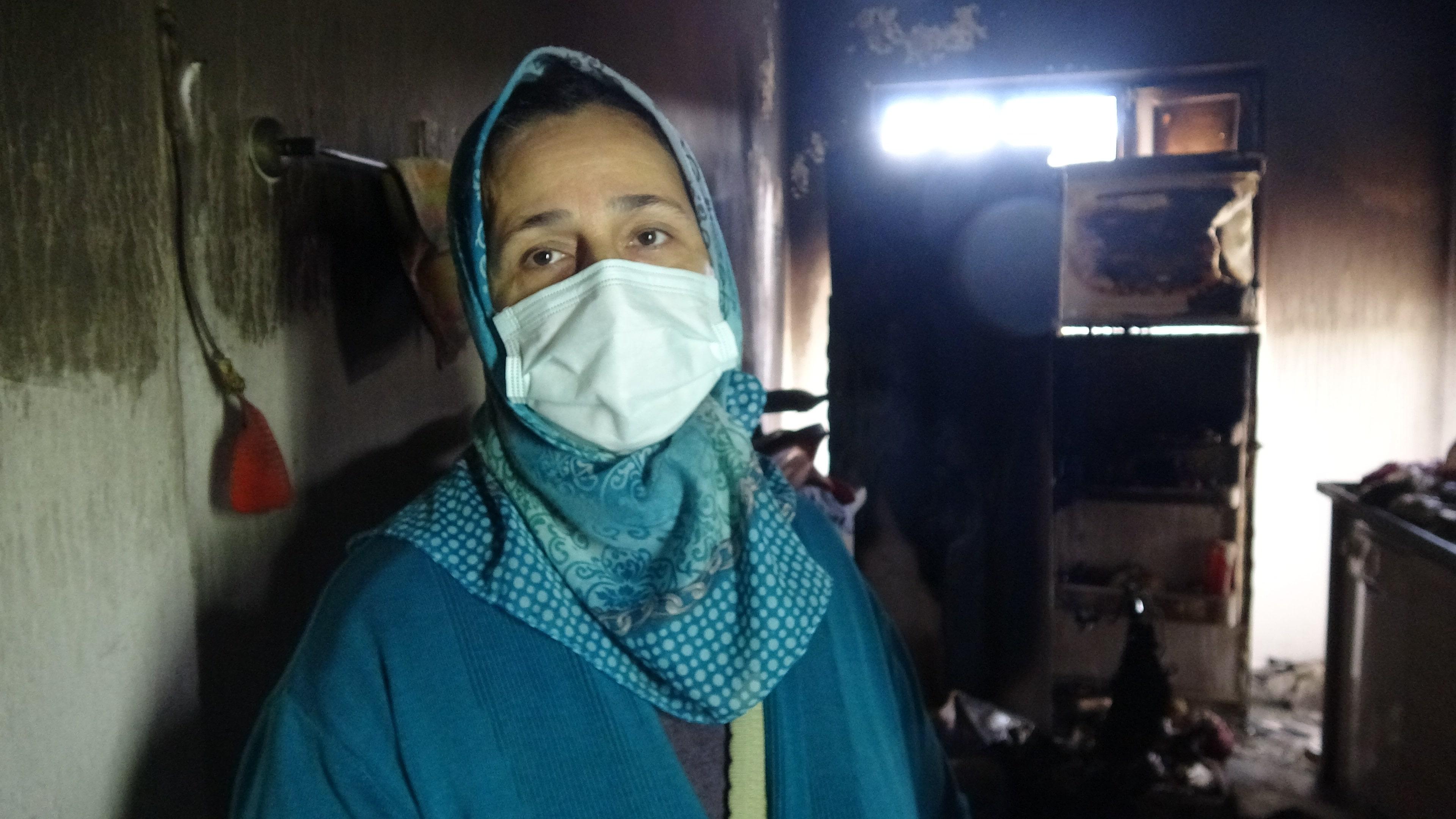 Buzdolabı bomba gibi patladı, evde kalan kadın canını zor kurtardı