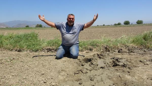 Büyük Menderes kuruyunca çiftçiler yer altı sularına yöneldi