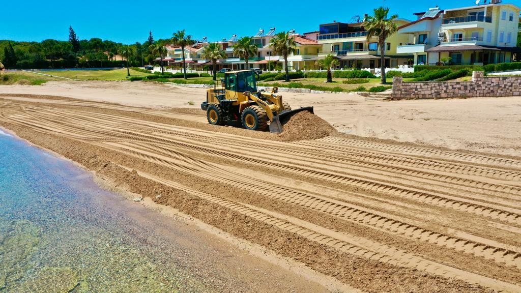Didim sahilleri yaza hazırlanıyor