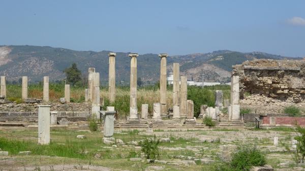 Magnesia Antik Kentte Zeus Tapınağı gün yüzüne çıkarılacak