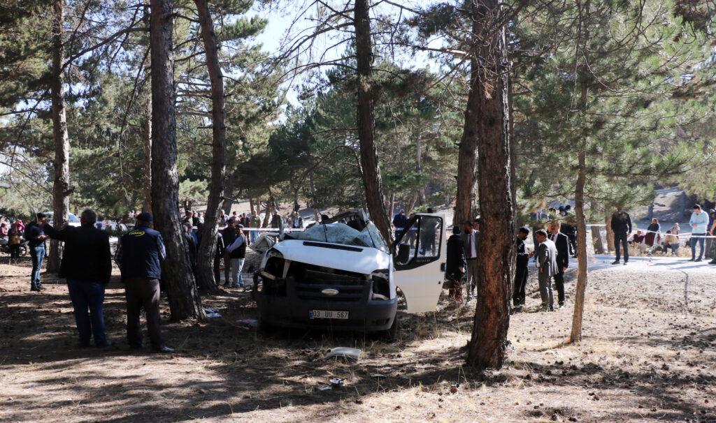 Öğrenci servisi kaza yaptı 5 ölü