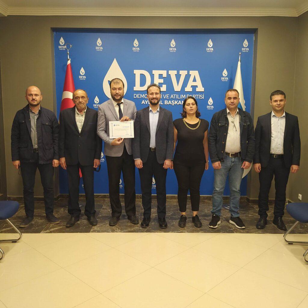 DEVA Parti'si İncirliova'da Özakel'e emanet